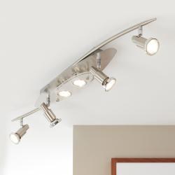 Briloner Úsporné LED stropní svítidlo Flash, 6zdrojové