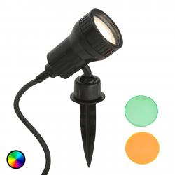 Briloner LED zapichovací reflektor Terra, barevný filtr