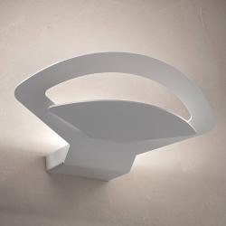 BRAGA LED nástěnné světlo Loto, bílé