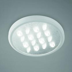 BRAGA LED stropní svítidlo Luno, stříbro