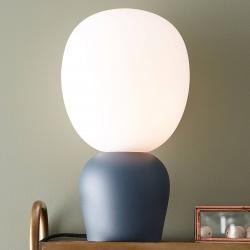 BELID Stolní lampa Buddy, azurová modř