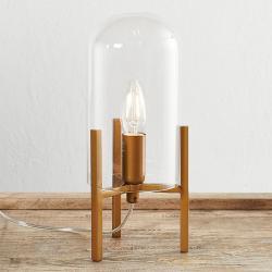 By Rydéns By Rydéns Smokie stolní lampa, zlatá