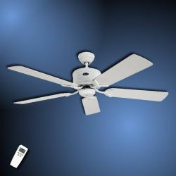 CASAFAN Střízlivý stropní ventilátor Eco Elements bílošedá