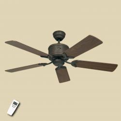CASAFAN Krásný stropní ventilátor Eco Elements hnědá/ořech