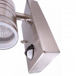 Deko-Light Malé nástěnné světlo Zilly II s detektorem pohybu