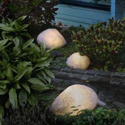 Epstein Svítící kameny s gumovou přípojkou žula 47 cm