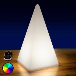 Epstein Bateriová RGB LED pyramida, 54 cm