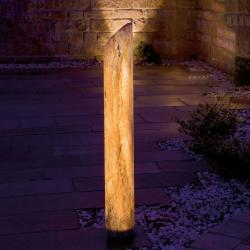 Epstein Svítící LED sloupek Sahara s pískovcem, 140 cm