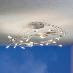 Escale Escale Spin oválné LED stropní svítidlo chrom