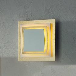 Escale Escale Pages - pozlacené LED nástěnné světlo 22 cm