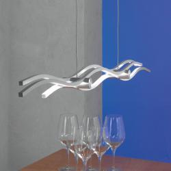 Escale Escale Silk - závěsné světlo LED 120 cm