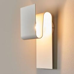 Escale Escale Fold - matně bílé LED nástěnné světlo