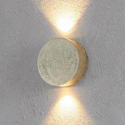 Escale Escale Fold - lesklé zlaté LED nástěnné světlo