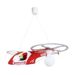 Elobra Dětské závěsné světlo Helikoptéra Fred