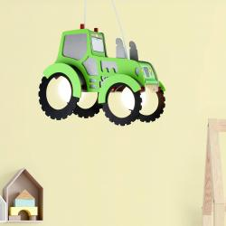Elobra Dětské závěsné světlo Traktor