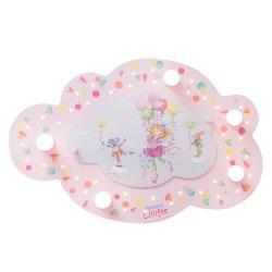 Elobra Stropní svítidlo Princezna Lillifee s LED mrakem