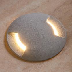 Fumagalli Zápustné LED svítidlo Ceci 120-2 L, šedá