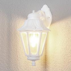 Fumagalli Bílé venkovní LED svítidlo Bisso Anna E27, dolní