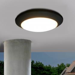 Fumagalli Černé venkovní stropní LED svítidlo Berta11W 3000K