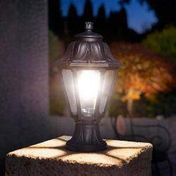 Fumagalli Sloupkové LED svítidlo Mikrolot Anna E27, odolné