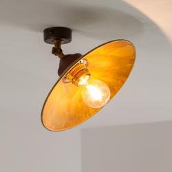 Gibas Stropní světlo RUA z oxidované mosazi