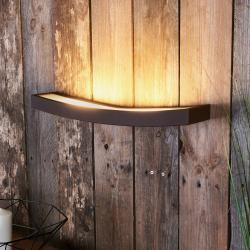 Gibas LED nástěnné světlo Dolce rezavé, šířka 50 cm