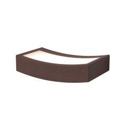 Gibas LED nástěnné světlo Dolce rezavé, šířka 13 cm