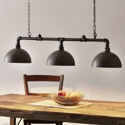 FISCHER & HONSEL Efektní závěsné svítidlo Leitung se třemi světly