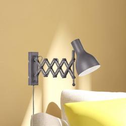 FISCHER & HONSEL Nástěnné světlo snatahovacím ramenem Pull