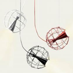 Innermost Innermost Latitude - závěsné světlo LED červené