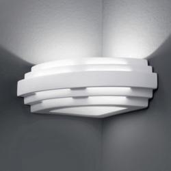 AUSTROLUX BY KOLARZ KOLARZ Stiegel – rohové nástěnné světlo