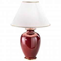 AUSTROLUX BY KOLARZ COLARZ Bordeaux – půvabná stolní lampa, 57 cm