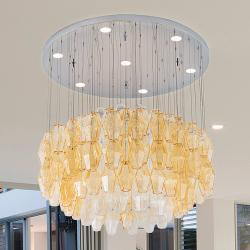 PATRIZIA VOLPATO Designové závěsné světlo LED Glace, 80 cm průměr