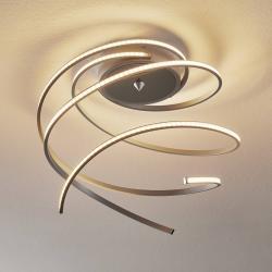 Lis Poland Stropní LED svítidlo Lungo 3-ramenné hliník