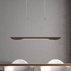 Lucande Lucande Hiba LED závěsné světlo, koloniální 88 cm