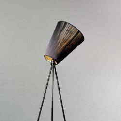 Northern Northern Oslo Wood stojací lampa černá/černá