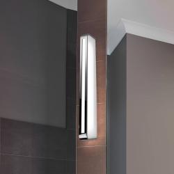 Pujol LED nástěnné světlo Arcos, IP20 90 cm, chrom