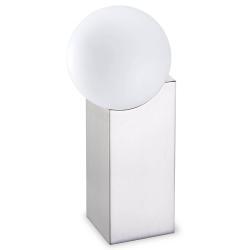 Pujol Stolní lampa Cub 23,5 cm nikl matný