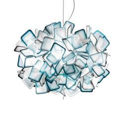 Slamp Slamp Clizia - designové závěsné světlo, modré