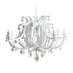 Slamp Slamp Ginetta - designové závěsné světlo, bílé