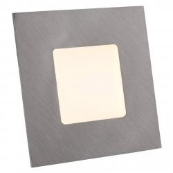 Heitronic LED podhledové svítidlo pro rámečky, stříbrné