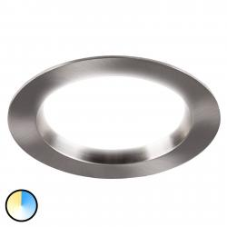 Heitronic LED podhledové svítidlo Tyrien 3000K-5700K nikl