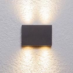 Lucande Hranaté venkovní nástěnné svítidlo Henor se 4 LED