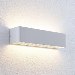 Lindby Nástěnné LED světlo Lonisa, bílé, 37 cm