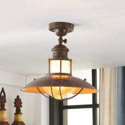 Lindby Rustikální stropní světlo Louisanne