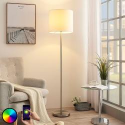 Lindby Lindby Smart LED stojací lampa Everly, aplikace