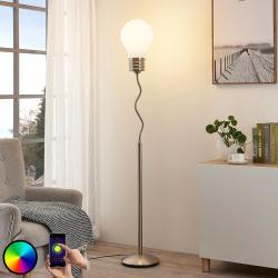 Lindby Lindy Smart RGB LED stojací lampa Mena