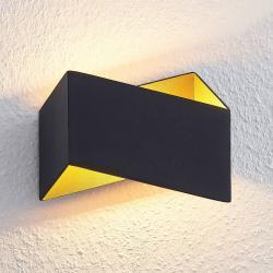 Arcchio Arcchio Assona LED nástěnné svítidlo, černé zlato