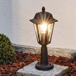 Lindby Svítidlo se soklem Lamina ve tvaru lucerny