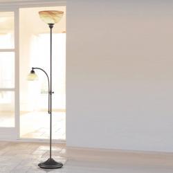 Wofi Stojací lampa Lacchino snožním stmívačem